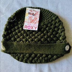 Roxy hat shorty beanie camo green